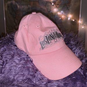 Pink dad hat